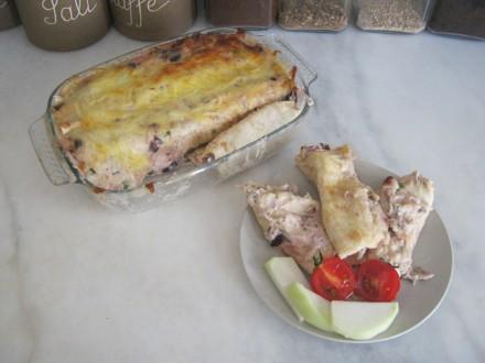 Chicken Chalupa Dinner