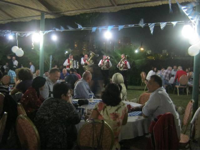 Bavarian Band in Adana